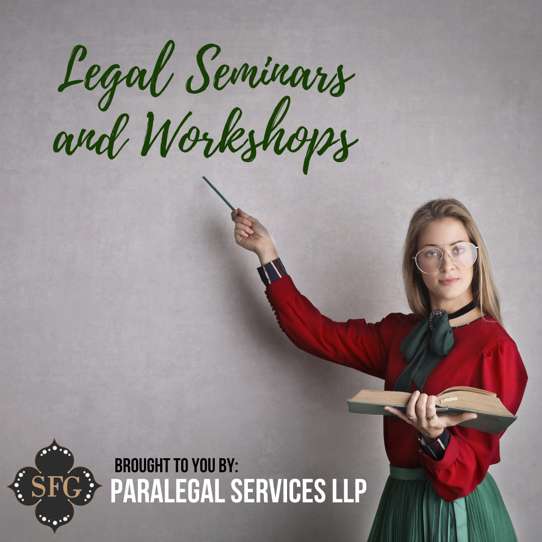 Legal Seminars and Workshops for the Public
