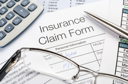 Insurance Claim Form Involving Denial of Coverage Including Duty to Defend